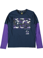 Storm NRL Youth Long Sleeve Tee
