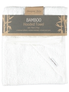 BABY HOODED TOWEL BAMBOO