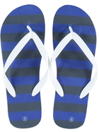 Mens Printed Basic Thongs